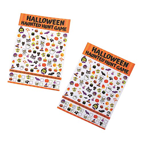 Witch Hunt Game For Halloween (Fun Express Halloween Hunt Game for Halloween - Toys - Games - Indoor & Mini Game Sets - Halloween - 13)