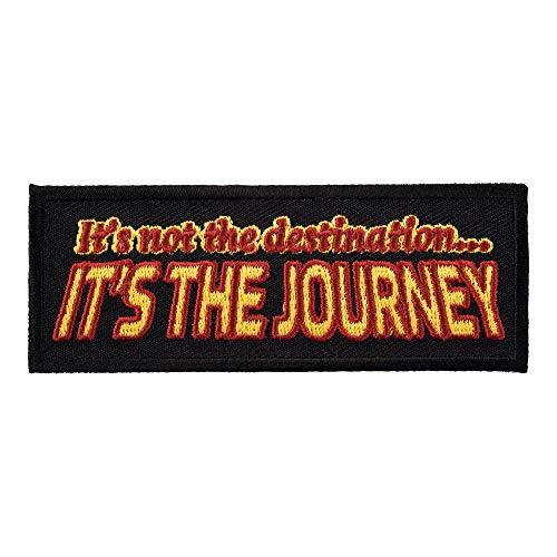 It's Not The Destination Journey Patch, Biker Patches (Its Not The Destination Its The Journey)