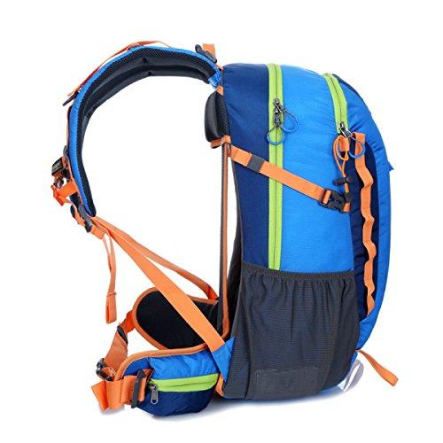 YUEER Alpinismo Mochila Hombres Y Mujeres Ejercicio Fitness Hombros Caminar Camping Stent Al Aire Libre Bolsa De Viaje,D A