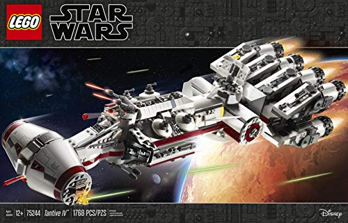 LEGO Star Wars Tantive IV 75244 (1768 Pieces) (Lego Star Wars Double Sets)