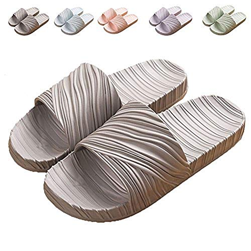 9 House Green Slip LINE Women's Anti for Home Sandal Indoor Bath Blue Slipper FpxzwSpqP