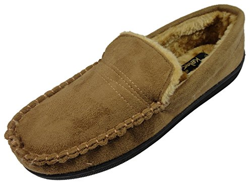Dr KellerSean - Pantofole uomo, marrone (Tan), 40