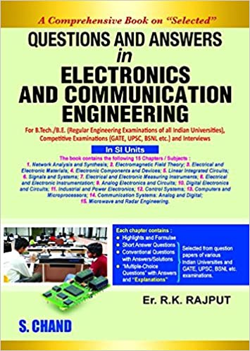 Questions and Answers in Electronics and Communication