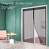 Magnetic Screen Door for French Door (72