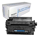 Proosh Compatible Toner Cartridge for HP CE255A, Black, 55A Non OEM; for use in Compatible Printers: HP Laserjet P3015D / HP Laserjet P3015X / HP Laserjet P3010 Series / HP Laserjet P3015 / HP Laserjet P3015DN / HP Laserjet P3015n