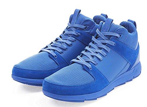 Boxfresh Sneakers Scarpe in Pelle Cowley Lea e14122Blu Gr 44