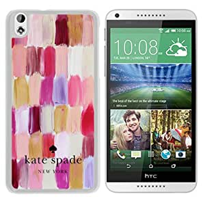 Unique Designed Kate Spade Cover Case For HTC Desire 816 White Phone Case 105