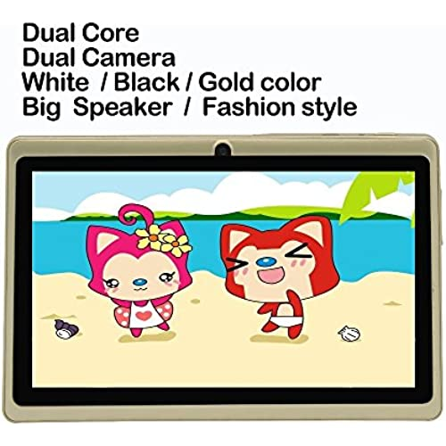 7 Tab Pc Android4.4 Wifi Dual Core Dual Camera Tablet Pc Good Choose For Gifts And S 7 Inch Tablet Pc White Black^.Standard and charger Coupons
