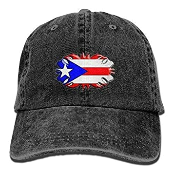 Página de Inicio de Moda Bandera de Puerto Rico Gorras de béisbol ...