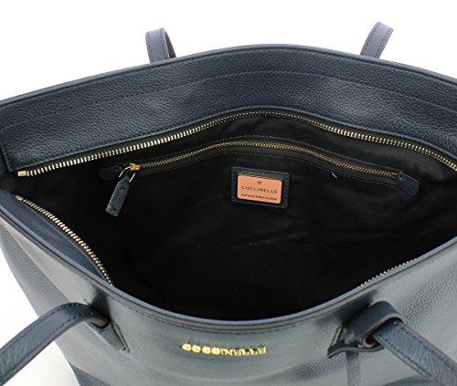 Coccinelle Soft Double Bleu Bag Clementine Shoulder Bf8110301 Rrq5R0v