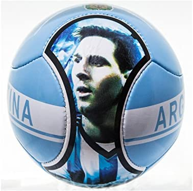 Balón de fútbol Messi & Argentina balón de fútbol 6 paneles tamaño ...