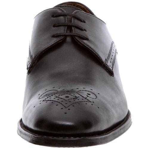 Clarks - Zapatos de cordones de cuero para hombre Negro (Schwarz (Schwarz))