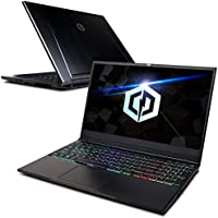 CYBERPOWERPC Tracer III Slim VR TSVR2000 15.6 Gaming Notebook (Intel i7-8750H 2.2GHz, 8GB DDR4, NVIDIA GeForce GTX 1060 6GB, 240GB M.2 SSD, RGB Mechanical Keyboard & Win10 Home) Black
