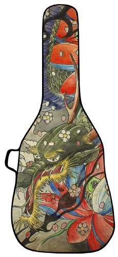 UPC 854634005012, Dragon Tapestry Acoustic Guitar Case by BOLDFACE