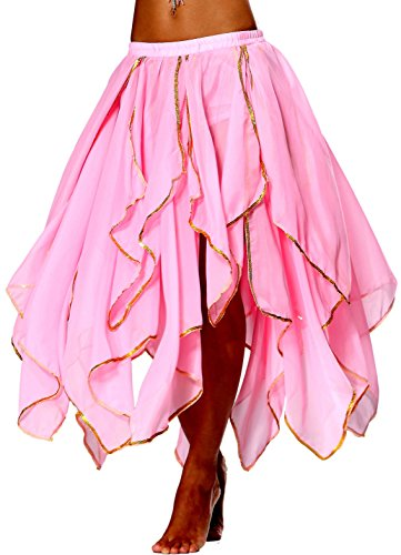 Dance Fairy Costumes (Seawhisper Fairy Renaissance Costume Skirt Latin Dance Dresses for Women Pink Size 2 4 6 8 10 12 14)