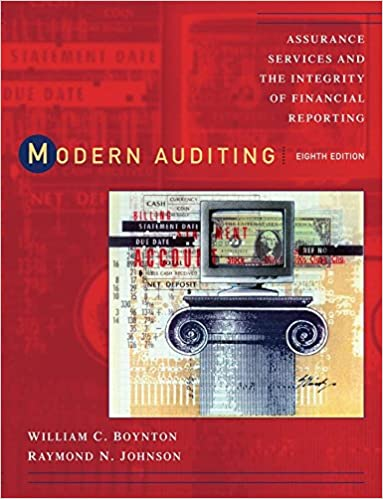 Modern Auditing: Assurance Services and the Integrity of