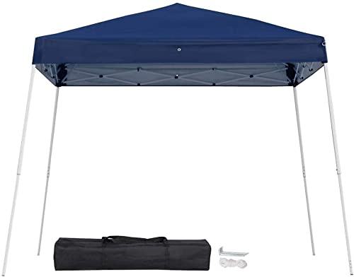 Yaheetech 10'x10' Outdoor Pop-Up Canopy Tent Portable Shade Instant Folding Canopy