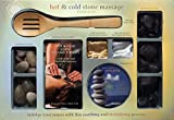By Author Hot & Cold Stone Massage Book & Kit with CD