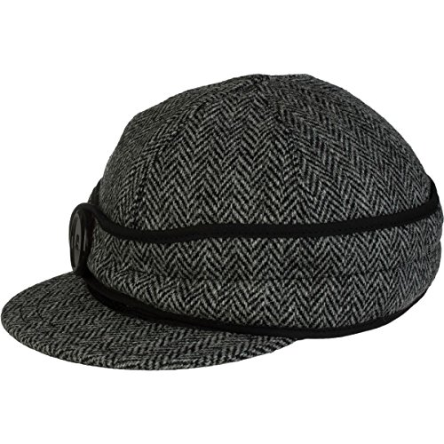 Stormy Kromer Women's Button Up Cap With Harris Tweed, Lowell, 7 1/4 from Stormy Kromer
