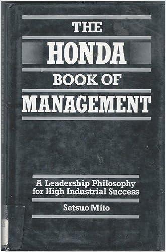 Ebook pdf Lataa ilmainen eBook lataus Honda Book of Management 0485113171 PDB