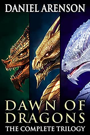 book cover of Dawn of Dragons: The Complete Trilogy