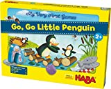 HABA My Very First Games - Go Go Little Penguin! - A First Competitive Game for Ages 2+ (Made in Germany)