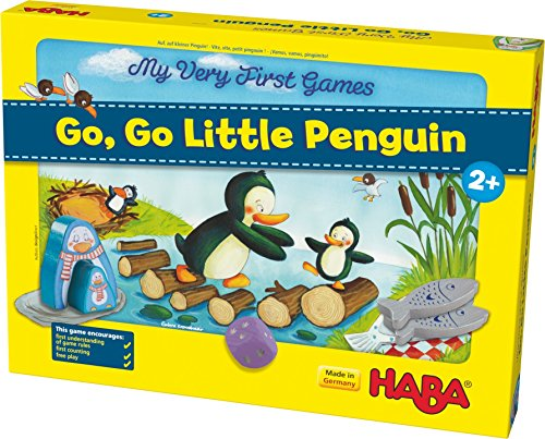 Haba My Very First Games – Go, go, little penguin!