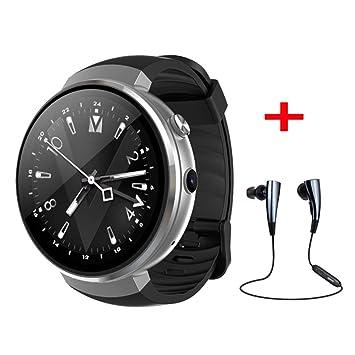 Reloj Inteligente LEMFO LTE 4G,Reloj Inteligente Teléfono Frecuencia Cardíaca 1 GB + 16 GB