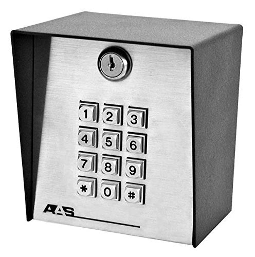 American Access Systems 19-100w 433 Digital Wireless Access Control Keypad Post Mount 433 MHZ