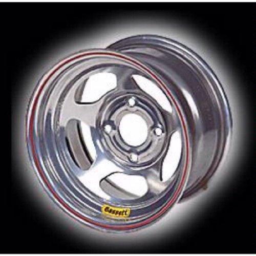 Bassett 15  X 10   5 On 4 75   2 Off Beaded Silver Wheel 50Sc2sb