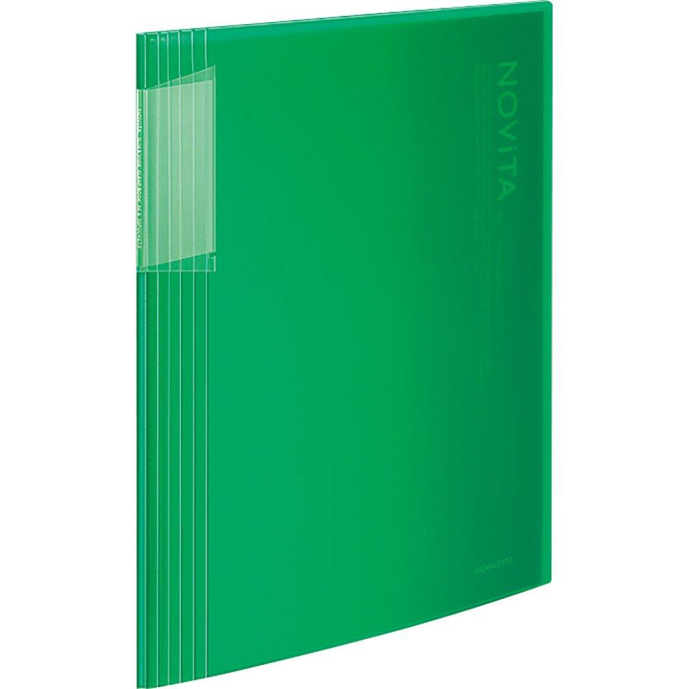 Kokuyo Clear File Noviita A4 Size 40pocket - Green