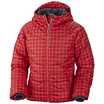 Columbia Sportswear Shimmer Me Jacket (Kid) - Red/Gingham-XX-Small