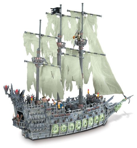 Pirates of the Caribbean 3: Flying Dutchman by Mega Brands by Mega Bloks