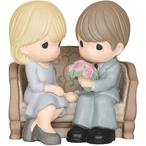 Love Porcelain Figurine - Precious Moments,  An Everlasting Love, Bisque Porcelain Figurine, 143016