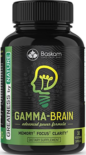 Extra Strength Brain Booster,Brain Enhancement Supplement, Brain Supplement – Brain Booster Supplement By Baskam – Anti Aging, Increased Memory, low Stress, Mental Alertness, Overall Health Review