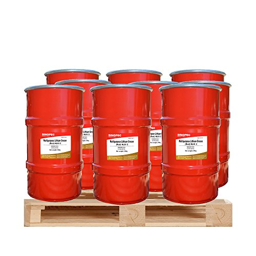 9-kegs-of-red-multipurpose-lithium-grease-2-120lb-16-gallon-keg