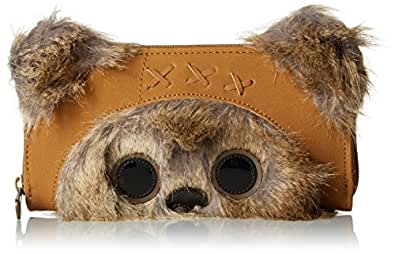 Loungefly Star Wars Ewok Wallet, Brown, One Size