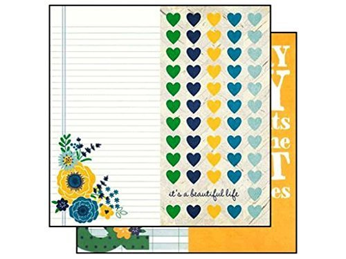 A Charmed Life Double-Sided Elements Cardstock 12X12-6X12 Page Elements by Simple (Life Stories Charmed Simple)