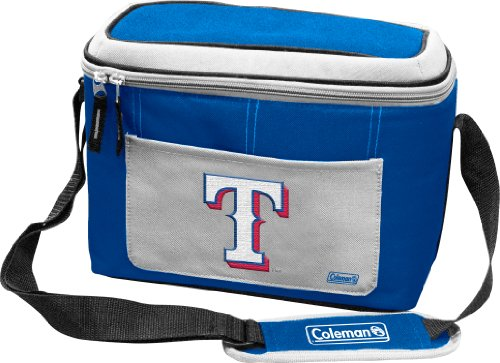 MLB Texas Rangers 12 Can Soft Sided Cooler (Texas Soft Sided Cooler)