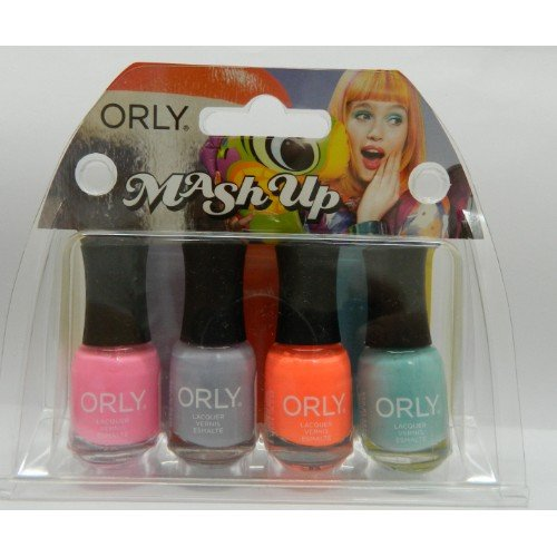 Orly Mash Up 4 Piece Mani Nail Polish Mini Kit (Weird Nail Polish Colors compare prices)