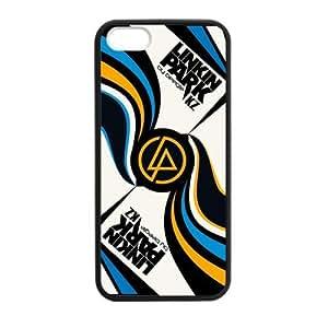 WXSTAR Fashion Linkin Park Custom Case for iPhone 5,5S TPU (Laser Technology)