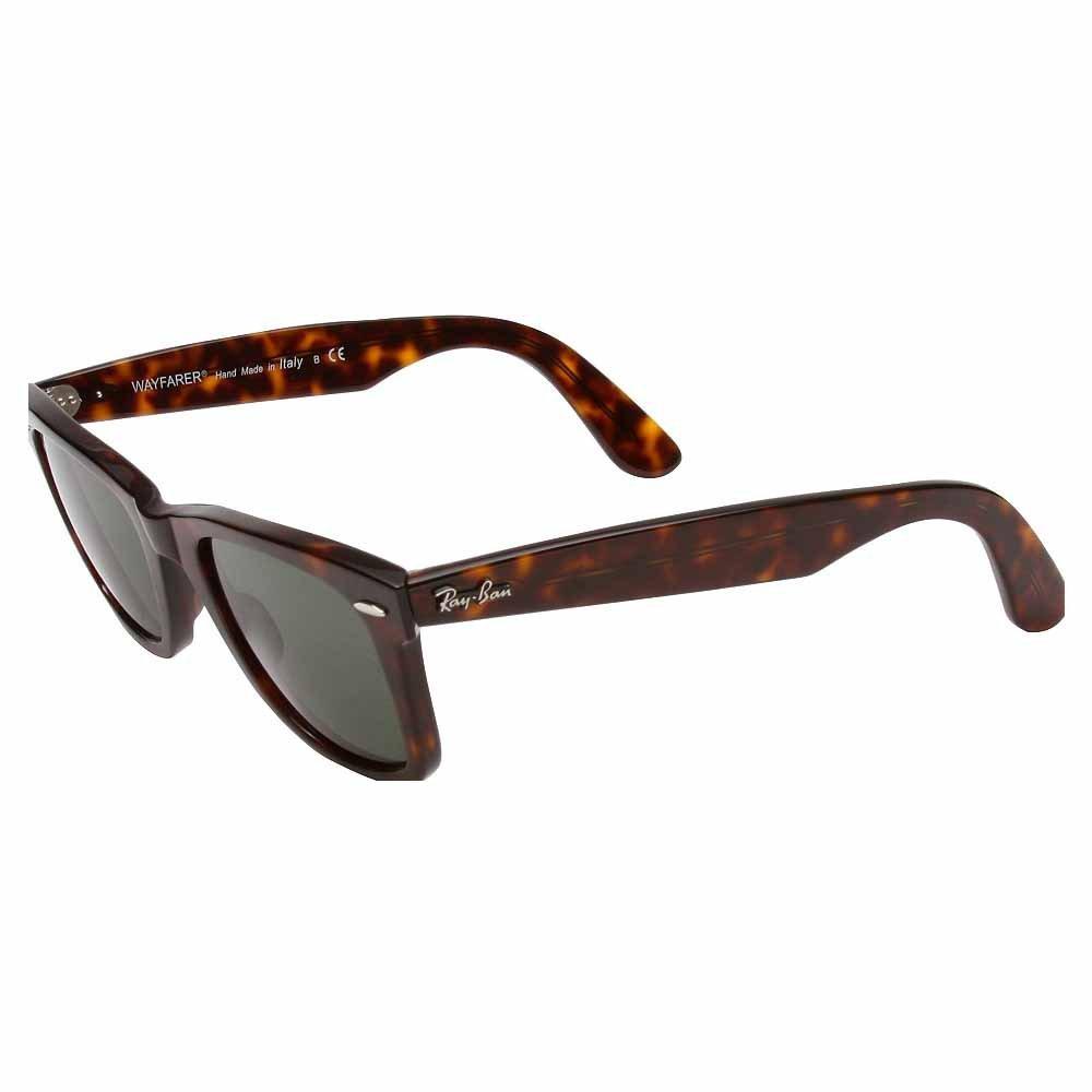 2c78be8d9ec Ray-Ban Unisex RB2140 Original Wayfarer Sunglasses 50mm  Rayban  Amazon.co. uk  Clothing