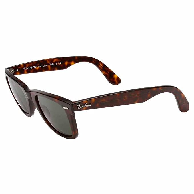 d1be6dbdb2 Ray-Ban Unisex RB2140 Original Wayfarer Sunglasses 50mm  Rayban   Amazon.co.uk  Clothing