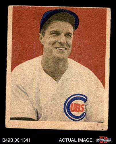 1949 Bowman # 83 NNOF Bob Scheffing Chicago Cubs (Baseball Card) (No Name on Front) Dean's Cards 3 - VG Cubs 51lav9qtROL