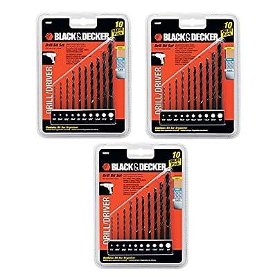 Black & Decker OEM 15557 10 piece drill driver bit setQty Discounts