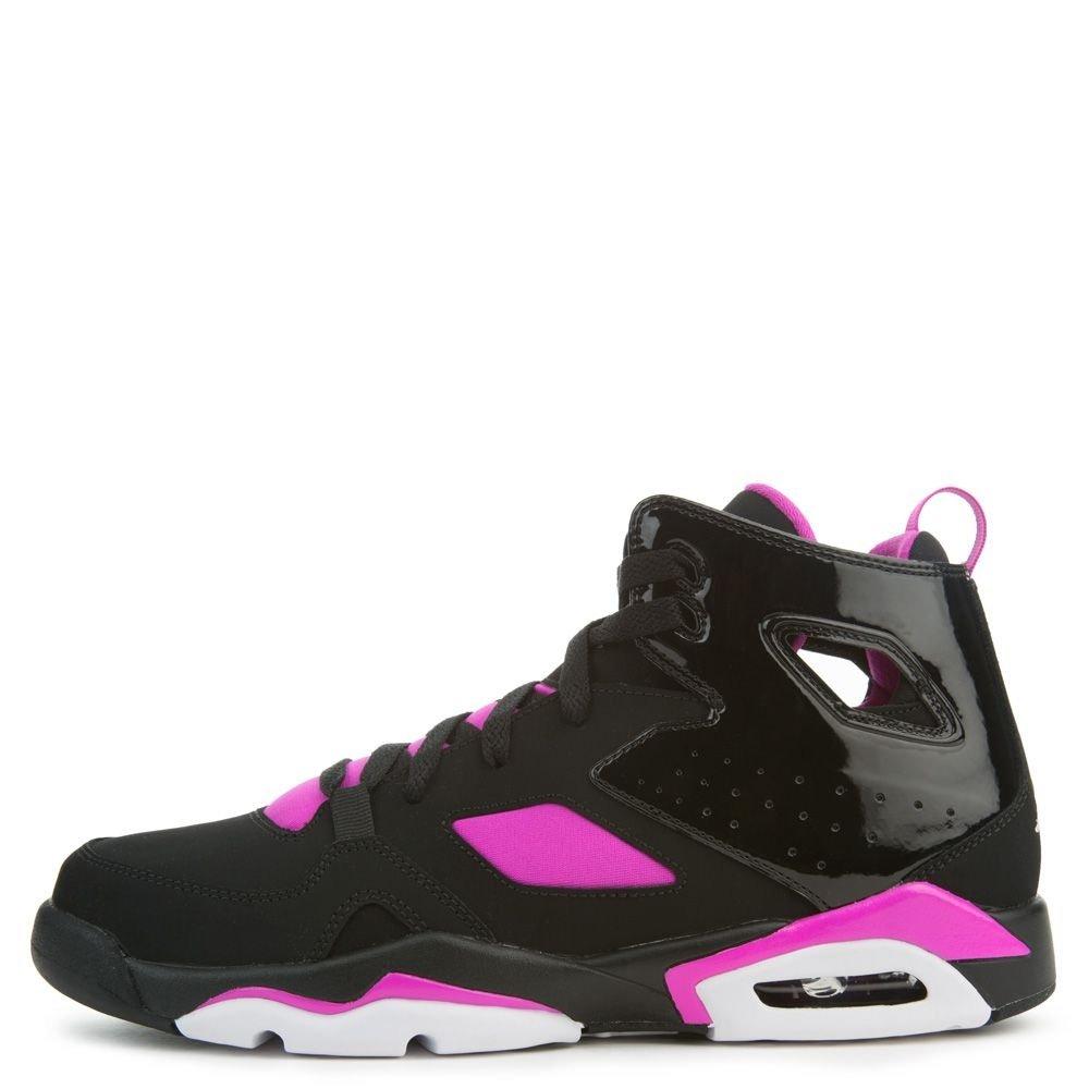 NIKE Jordan Infant Flight Club 91 Baby Girls Fashion-Sneakers AO2672-028_4C - Black/Pink