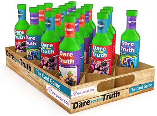 51lavz3H0GL - The Purple Cow Dare for Truth Family Spin the Bottle Game, Family Edition