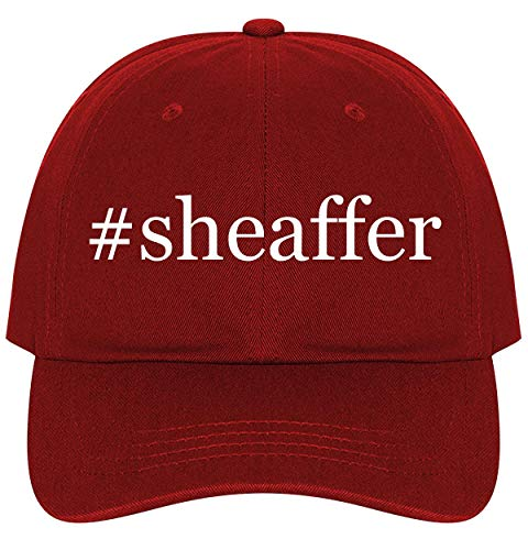 #Sheaffer - A Nice Comfortable Adjustable Hashtag Dad Hat Cap, Red