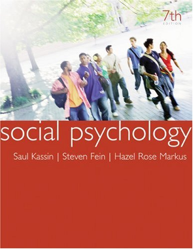 Group Psychology 7th Edition