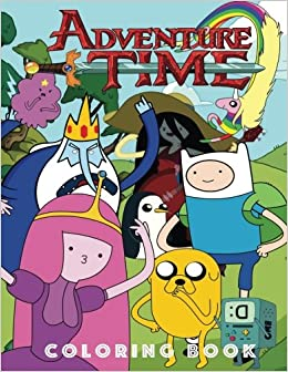 Adventure Time Coloring Book: An A4 50 Page Book for Any Fan of ...